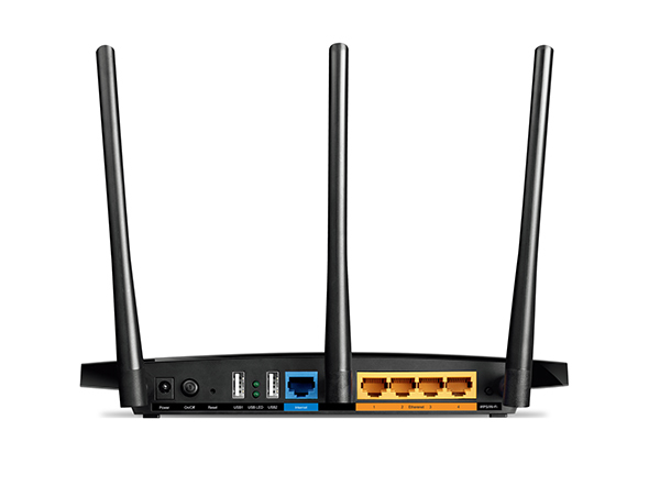 Router WiFi AC1750 - Archer C7 (450Mbps 2,4GHz + 1300Mbps 5GHz; 4port 1000Mbps; 2xUSB2.0; 3x3MIMO)
