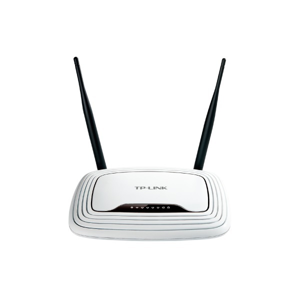 Router WiFi N - TL-WR841N (300Mbps, 2,4GHz; 4port 100Mbps; 2x2MIMO; fix 5dBi antenna)