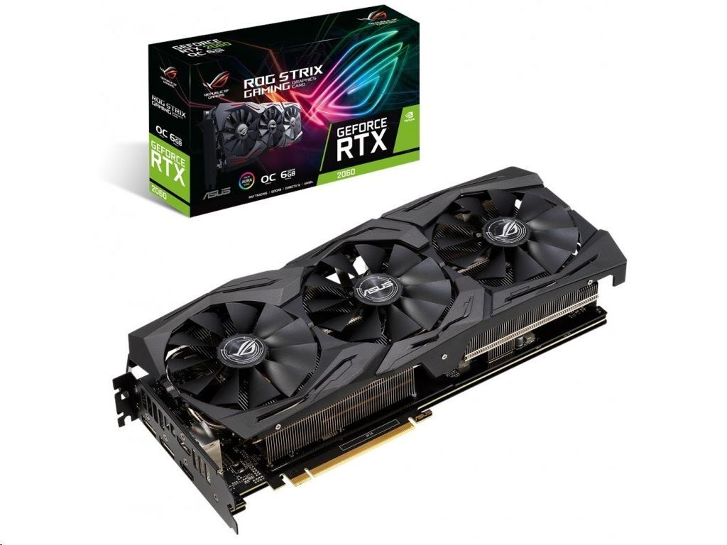 ROG Strix GeForce RTX 2060 OC edition 6GB GDDR6