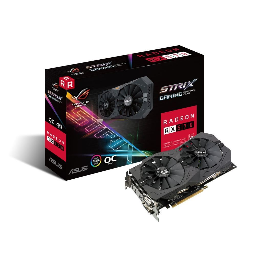 ROG Strix Radeon RX570 OC edition 8GB GDDR5